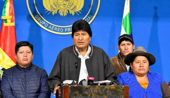 Bolivia's President Evo Morales Is Backtracking Under Heavy US Pressure