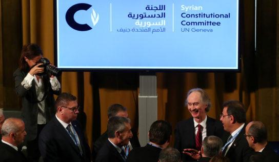 Iran, Russia, Turkey call for restoration of peace to Syria's Idlib