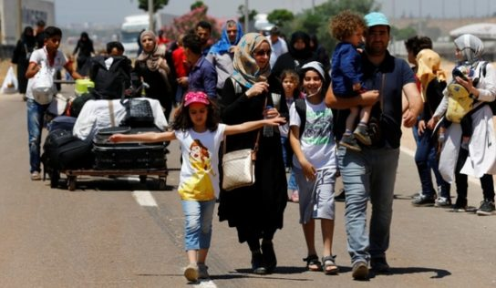 About 500 people return to their homes in northeastern Syria