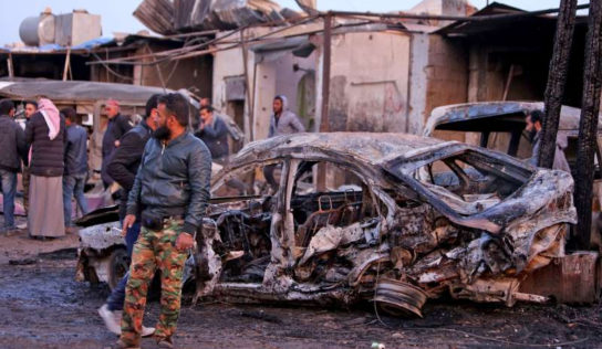 Car Bomb Blast Near Syria's Ras al-Ain Kills 17 People,
