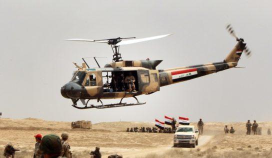 Iraqi Air Force Strikes ISIS Fuel, Vehicle Storage Facilities