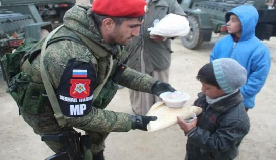 The Russian military police: peacekeepers in Syria