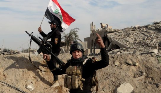 Seven Iraqi Paramilitary Troops Killed in Suicide Bombing Attack