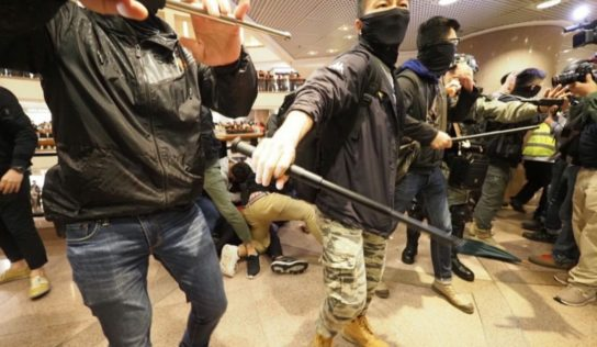 Hong Kong Rioters Mark Christmases eve With mall Attack