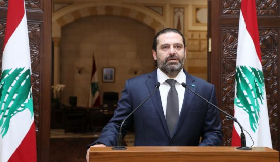 Hariri urges new government formation to 'calm popular storm' in Lebanon