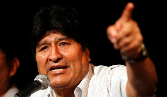 Morales: US Embassies Behind Coups Around World