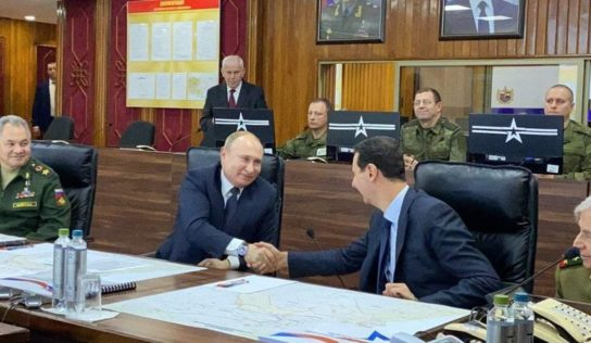 Russian President Putin Makes Visit to Damascus