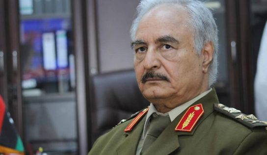 Eastern Libya's Haftar Arrives in Moscow Where Might Hold Talks With GNA's Sarraj