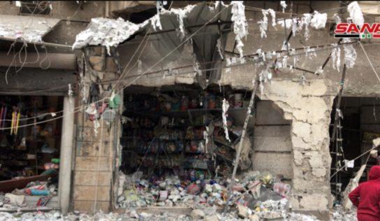 Aleppo Massacre : terrorists ' Shelling Killed and  Injured Over Dozen Of Civilians