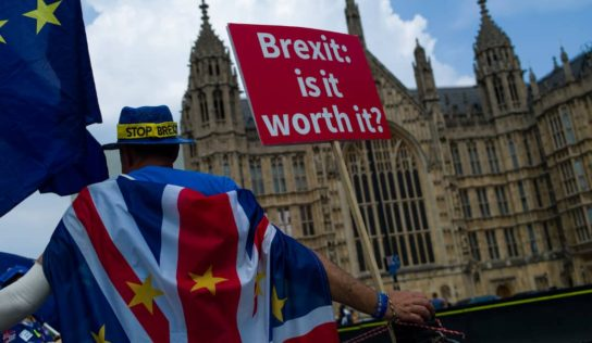 Britain officially leaves the European Union