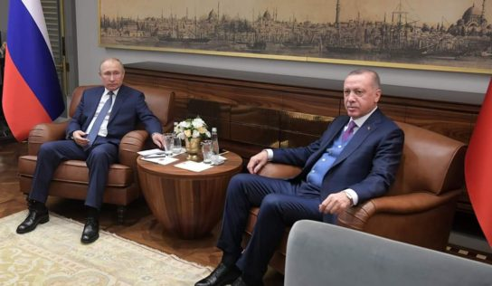 Russia hopes Putin, Erdogan can agree joint measures at Syria talks, Kremlin says