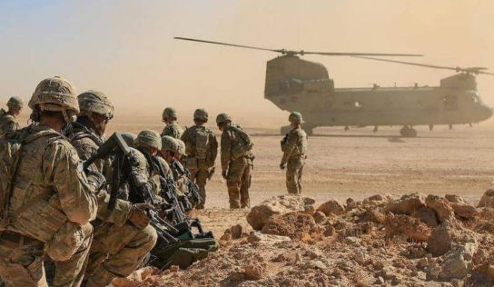 U.S. Evacuate 'Smaller ' Bases In Iraq AMID Increasing Rocket Attacks On Its Forces