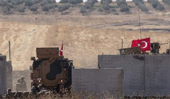 Turkish -Backed terrorists Attack Kurdish Forces In Northern Raqqa