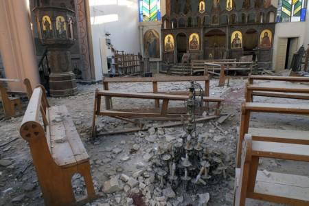 Syrian Christian village awaits the end of Al Qaeda's occupation of Idlib