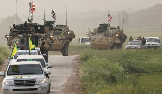 US-led coalition airdrops military equipment to Syria's biggest oil field