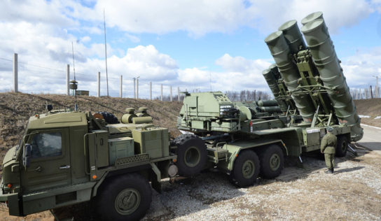 US military testing capabilities of Russia's S-400 system in Syria