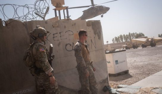 ISIS takes credit for attack on Bagram Airfield, largest US military base in Afghanistan, as Taliban fighters walk free