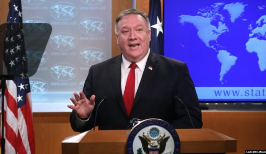 Pompeo says 'no sanctions' prevent Covid-19 aid to Iran, as US blocks $5bn IMF loan & ignores calls to lift penalties