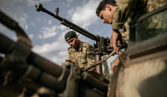 Egypt delivers military equipment to Libyan Army