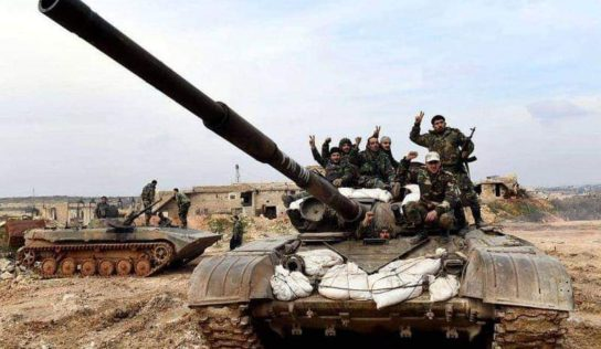 Syrian Army Clashes With ISIS Cells In Eastern Hama