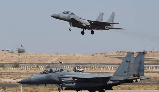 Saudi-led Coalition Conducts 26 Air Raids on Yemen's North, West