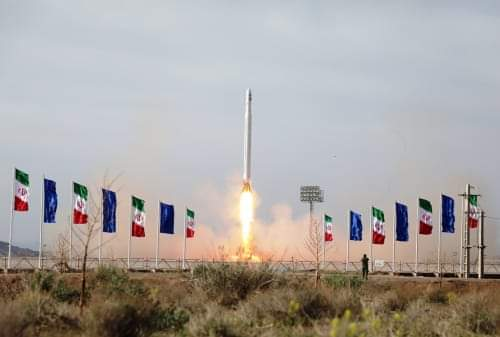 Despite US sanctions, Iran launches military satellite for defense