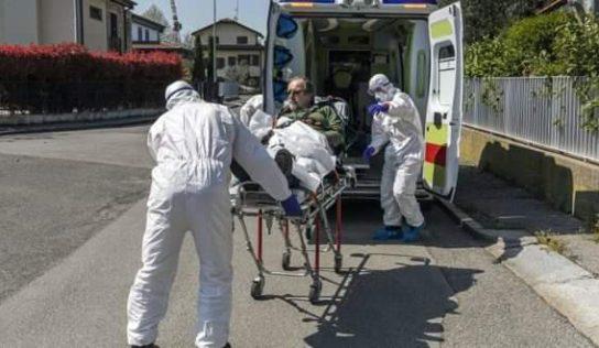 US coronavirus deaths top 45,000, doubling in little over week