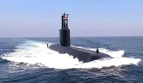 Egyptian Navy reveals strength of new submarine