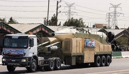 Report says Iran may have replicated Israeli missile downed in Syria