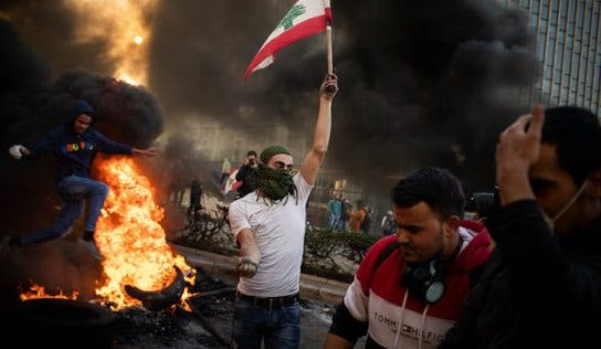 The Hunger Riots in Lebanon served with a Molotov Cocktail