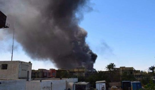 Saudi-led airstrikes hit trucks carrying food, medicine in central Yemen