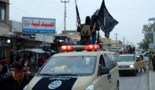 High-ranking ISIS commander killed near Syrian-Iraqi border
