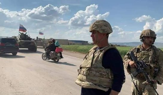 Russia and TURKEY Hold 8TH Joint Patrol In Southern IDLIB. It's 2 Times Longer Than Previous Ones
