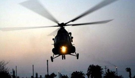 Iraqi chopper chase down ISIS terrorists