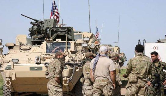 U.S. Forces Established New base In Syria's DEIR EZZOR