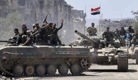 Syrian Army reinforcements roll into Daraa with heavy weapons for new operation