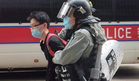 Hong Kong Police Arrest 16 Demonstrators Ahead of Anthem Bill Debate – Reports