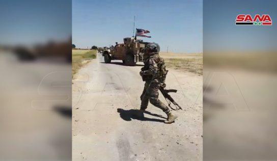 Syrian Army blocks US military convoy in northeast Syria