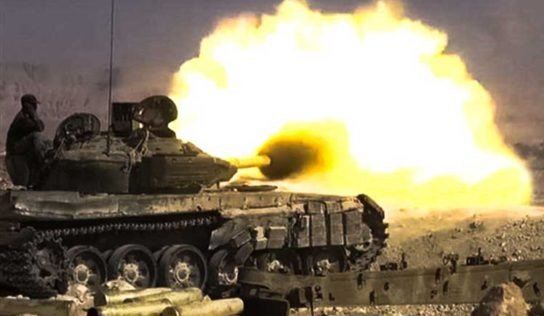 Syrian Army unleashes big attack in southern Idlib
