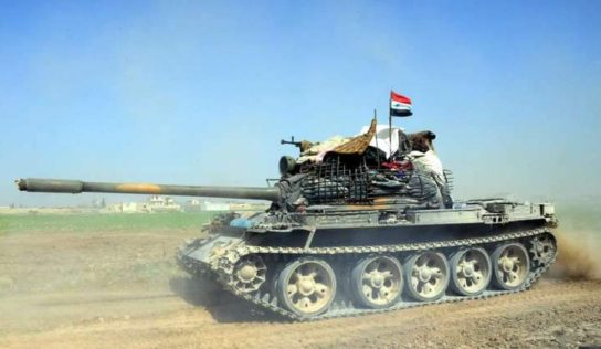 Syrian Army launches counter-offensive against terrorists in northwest Hama