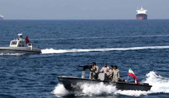 Preparing for war: Iran builds mock US naval fleet to destroy in military exercises