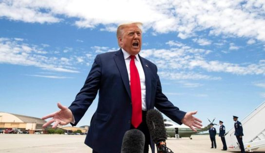 Trump Busy Watching Fox Instead of Doing His Job': Backlash Over POTUS' Floyd Hearing Tweet