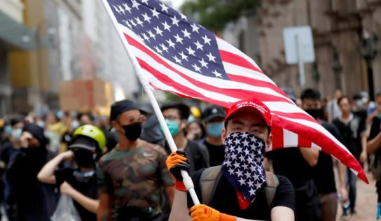 Protests in U.S. and UK Continue , as Violence Is Blamed On Right Wing