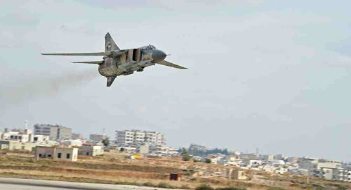 Syrian Warplanes Pound ISIS Remnants in Southeast HAMA