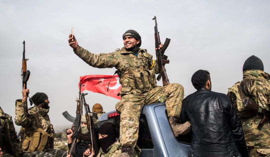 Ankara militants confiscate agricultural crops in Afrin, northern Syria