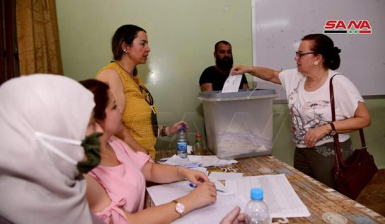 Syrian elections are under way as citizens elect People's Assembly members