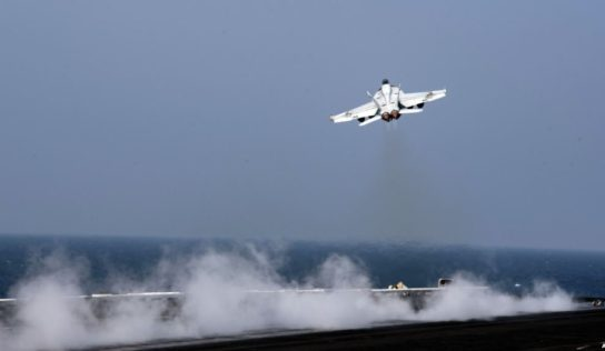 Nuclear-powered US aircraft carrier group to enter eastern Mediterrean