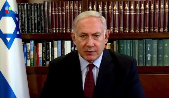 "Netanyahu vows to not allow Iran to establish itself along ""Israel's borders"""