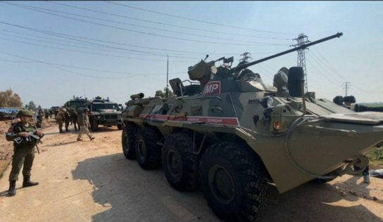 "Cancelling another joint patrol on ""Aleppo-Lattakia"" highway"