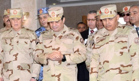 Egyptian President orders armed forces to maintain highest level combat readiness along Libyan